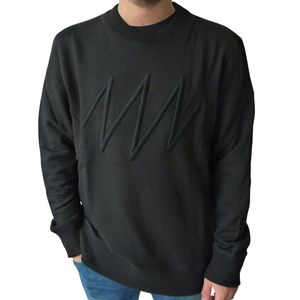 Jack & Jones Sweat Crew Neck Herren Pullover schwarz – Bild 1