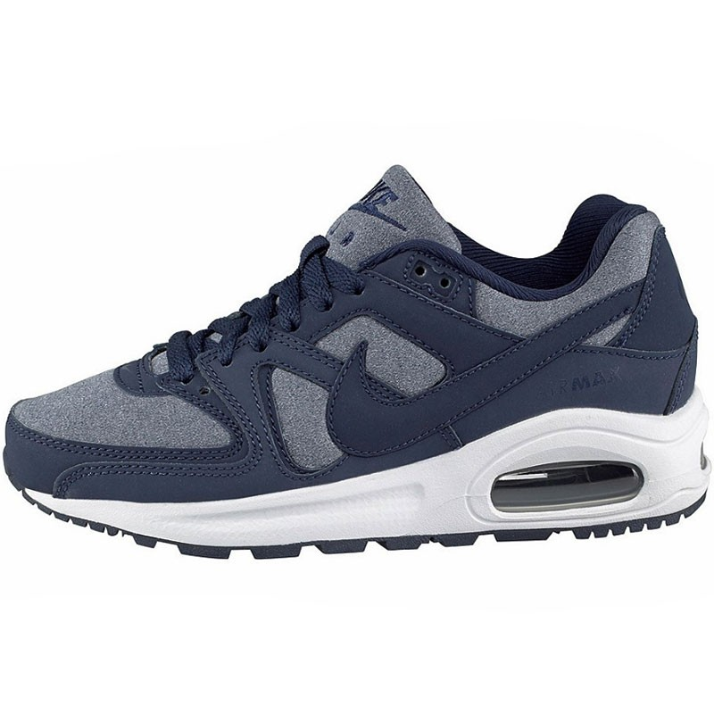 nike air max command flex gs sneaker blau wei. Black Bedroom Furniture Sets. Home Design Ideas