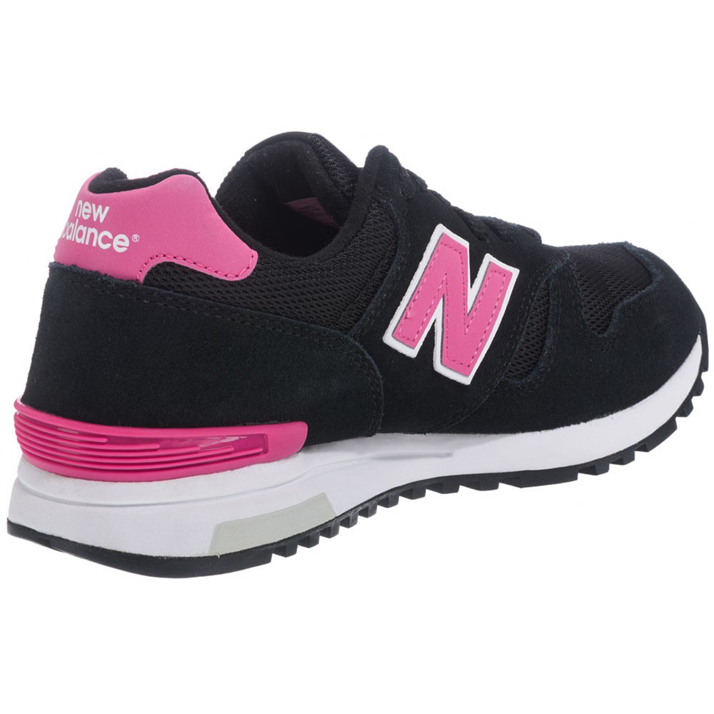 new balance wl565pg damen sneaker schwarz pink. Black Bedroom Furniture Sets. Home Design Ideas