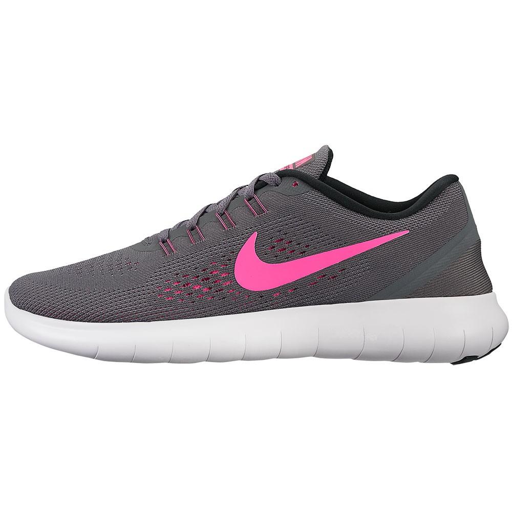 Nike WMNS Free RN Damen Sneaker grau pink