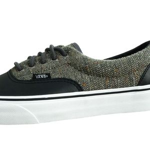 Vans Era Wool & Leather Herren Sneaker schwarz grau – Bild 2