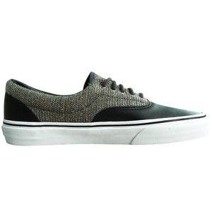 Vans Era Wool & Leather Herren Sneaker schwarz grau – Bild 3
