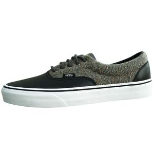 Vans Era Wool & Leather Herren Sneaker schwarz grau – Bild 1