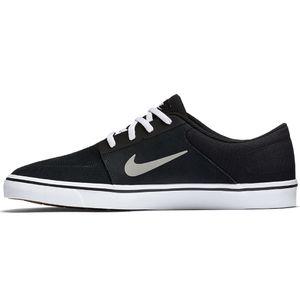 Nike SB Portmore Sneaker Skateschuh schwarz weiß – Bild 1