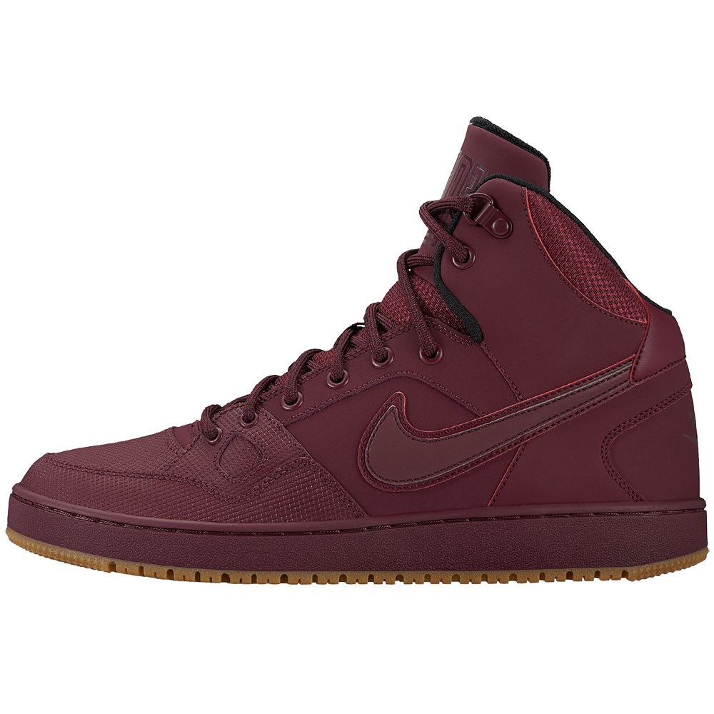 Nike Son of Force Mid Winter High-Top Sneaker weinrot