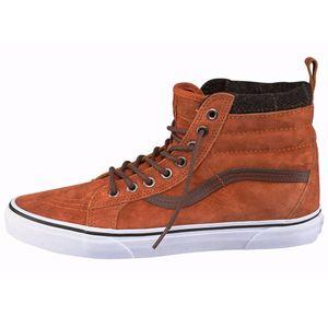 Vans SK8-Hi MTE High-Top Sneaker braun weiß – Bild 1