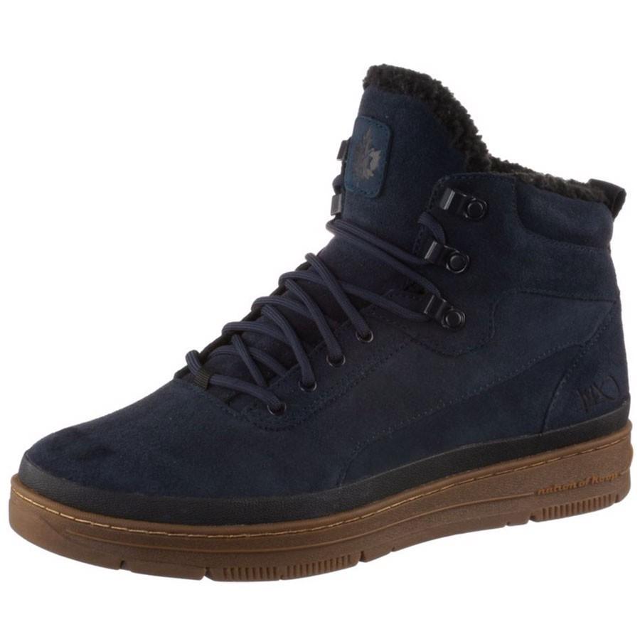 K1X gk 3000 Herren High Top Sneaker-Boots navy blau