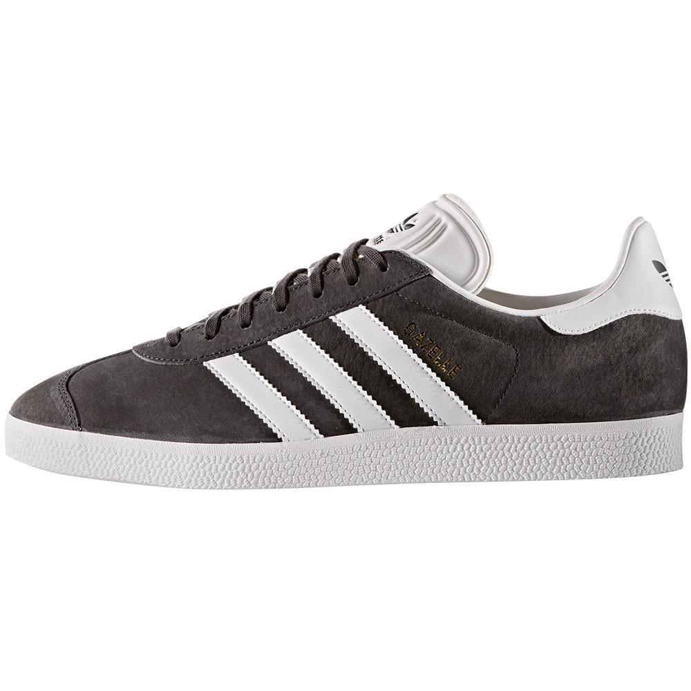 adidas Originals Gazelle Herren Sneaker grau weiß