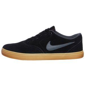 Nike SB Check Solar Herren Sneaker Skateschuh schwarz – Bild 1