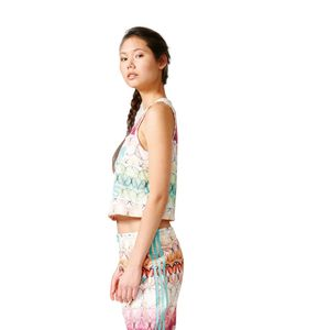adidas Originals Borbofresh Loose Crop Tank top bunt – Bild 4