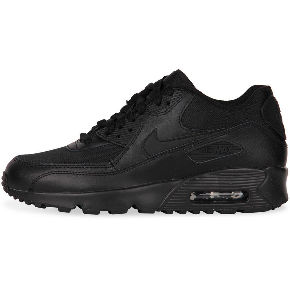 Nike Air Max 90 Mesh GS Sneaker schwarz