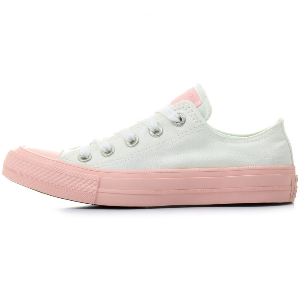 Converse CT AS II OX Chuck Taylor All Star white vapor pink