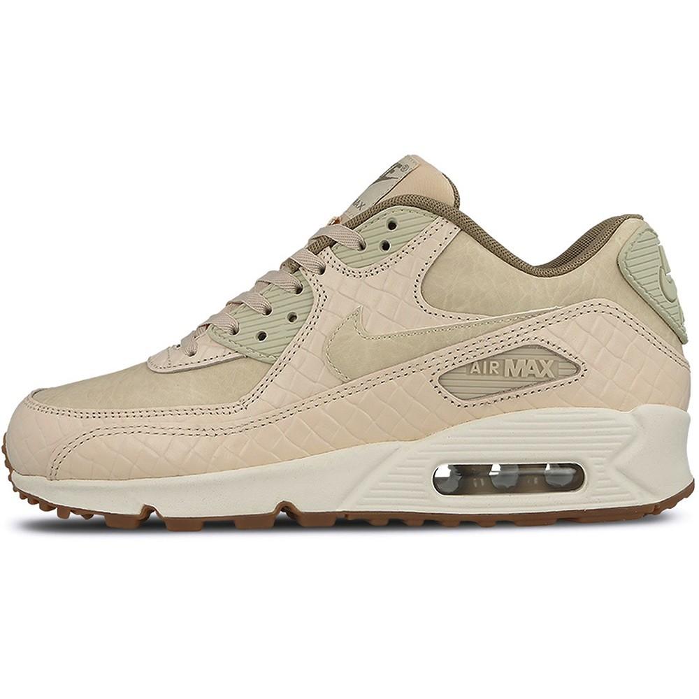Nike WMNS Air Max 90 PREM Damen Sneaker beige