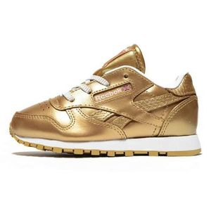 Reebok Classic Leather Metallic Kleinkinder Sneaker gold – Bild 1