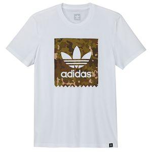 adidas Originals Logo RMX Tee Herren weiß camouflage