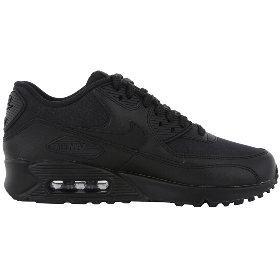 Nike WMNS Air Max 90 Leather Damen Sneaker schwarz |