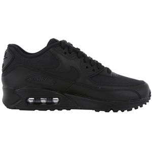 Nike WMNS Air Max 90 Leather Damen Sneaker schwarz – Bild 1