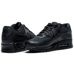 Nike WMNS Air Max 90 Leather Damen Sneaker schwarz – Bild 4