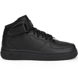 Nike Air Force 1 Mid GS High-Top Sneaker schwarz – Bild 1