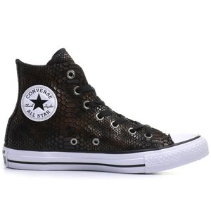 Converse CT AS HI Chuck Taylor All Star metallic braun weiß