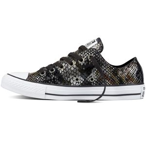 Converse CT AS OX Chuck Taylor All Star metallic schwarz braun – Bild 2
