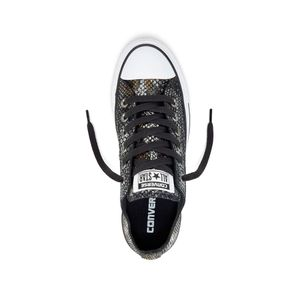 Converse CT AS OX Chuck Taylor All Star metallic schwarz braun – Bild 3
