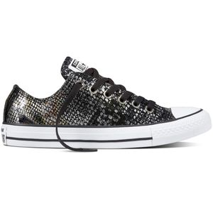 Converse CT AS OX Chuck Taylor All Star metallic schwarz braun