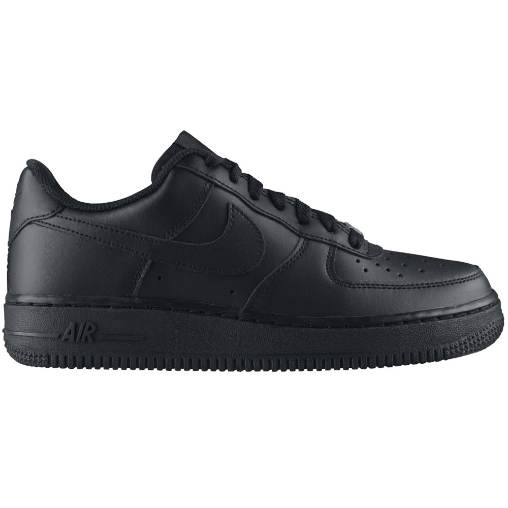 Nike Air Force 1 GS Damen & Kinder Sneaker schwarz