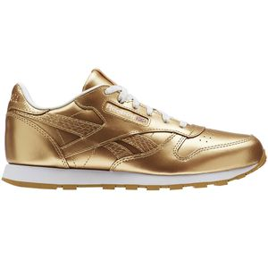 Reebok Classic Leather Metallic Junior Kinder Sneaker gold – Bild 1