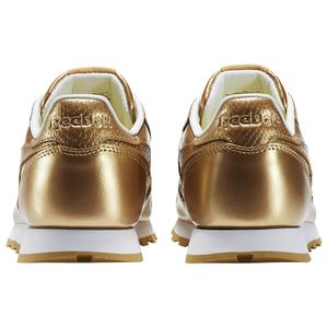 Reebok Classic Leather Metallic Junior Kinder Sneaker gold – Bild 4