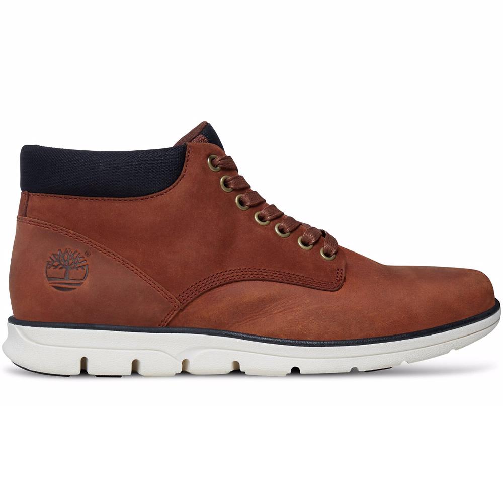 Timberland Chukka Leather Herren Boot Stiefel braun