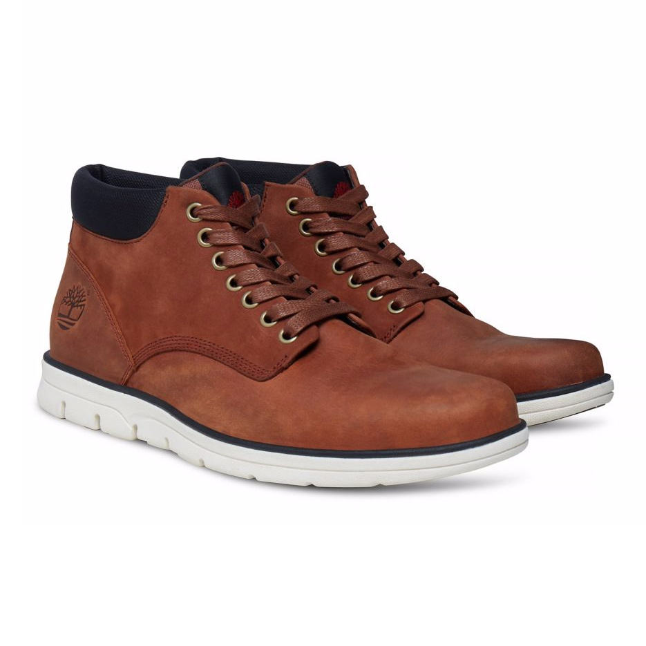 new arrival 04d5c f62dc Timberland Chukka Leather Herren Boot Stiefel braun