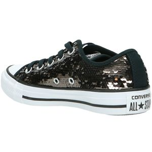 Converse CT AS OX Chuck Taylor All Star gunmetal white – Bild 3