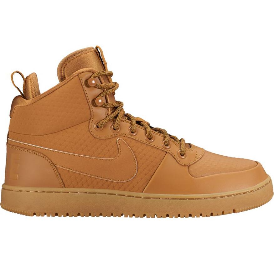Nike Court Borough Mid Winter Sneaker hellbraun